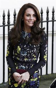 Kate Middleton glams up dull winter with floral Erdem ...