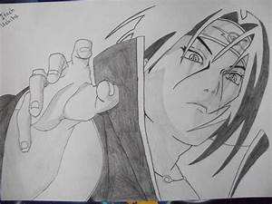 Uchiha Itachi Drawing by honchkrow14 on DeviantArt