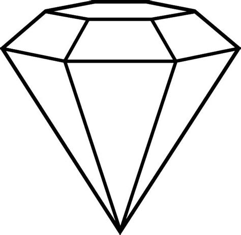 popular diamond shape cut coloring pages adult coloring