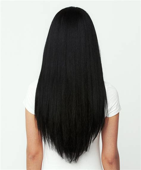 Is Black Hair Considered by Clip In Hair Extension Jet Black 16 Quot Nexa Hair