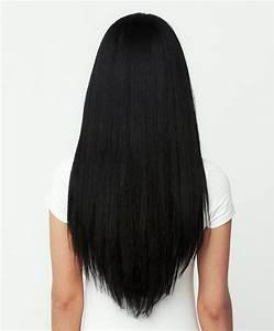 Clip In Hair Extension Jet Black 16quotFull HeadNexa Hair