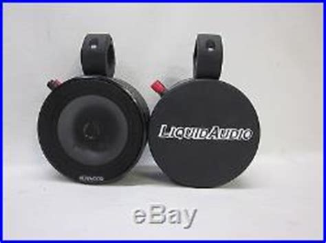 Kenwood Boat Tower Speakers by Wakeboard Tower Speakers 187 Kenwood Blk Mini Wakeboard