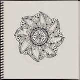 Zentangle Simple Patterns Designs Coloring Pages Adults Printable Pattern Zentangles Mandala Bestcoloringpagesforkids sketch template