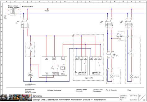 Seb01 Schéma électrique Base 01 éclairage Tertiaire E