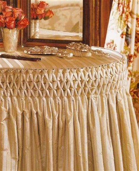 table cloth skirting design 17 best images about dressing table ideas on pinterest