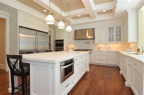 coffered ceiling kitchen traditional kitchen jillian