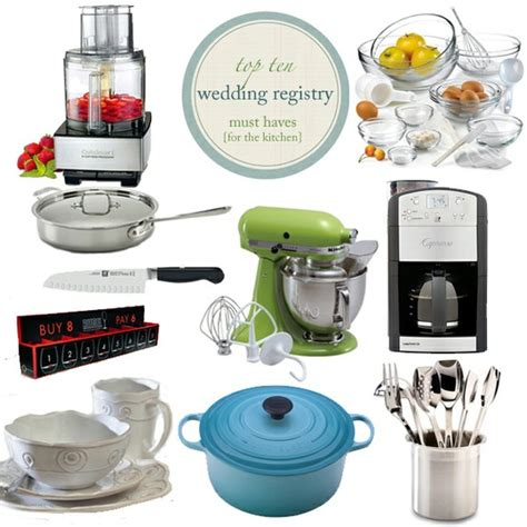 Kitchen Kaboodle Gift Registry by Wedding Shower Gift Ideas That Won T Go To Waste Wedding