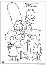 Simpsons Coloring Pages Printable Cartoon Simpson Colouring Bart Homer Sheets Books Disney Drawing Magiccolorbook Drawings Adult Getcolorings Colorin sketch template