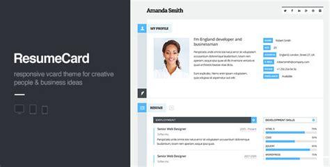 html profile template 30 best html business card templates 2016 designmaz
