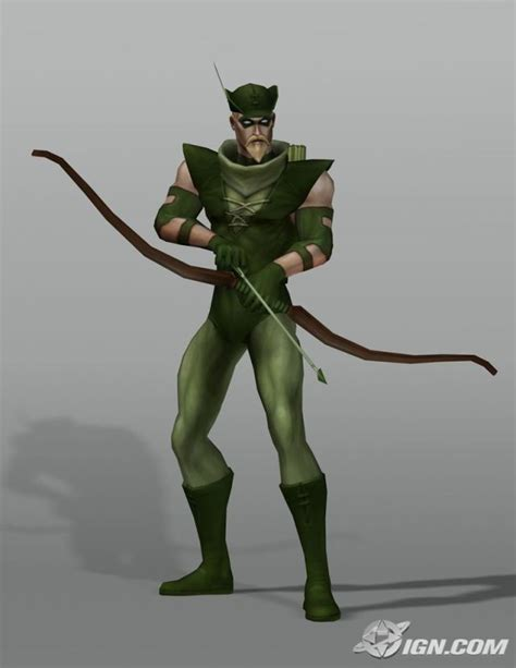 League Kumo Green oliver justice league heroes dc database