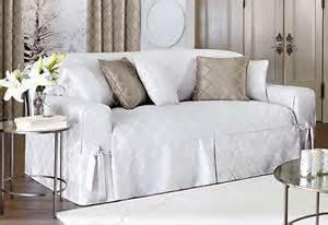 sofa white durham surefit one slipcover sure fit