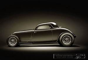 1933 Ford  U0026quot Dry Lakes U0026quot  3 Window Coupe By Wayne Halabura
