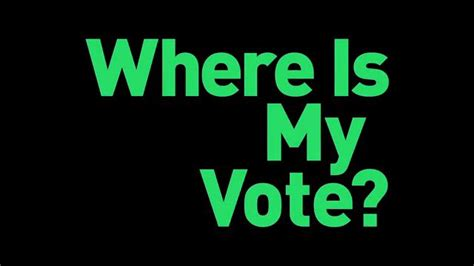 Where Is My Vote? Posters For The Green Movement In Iran