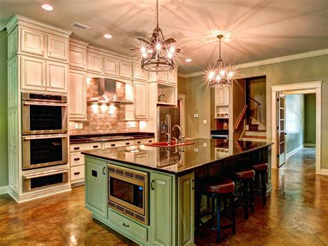 Country Kitchens With Islands Deductourcom