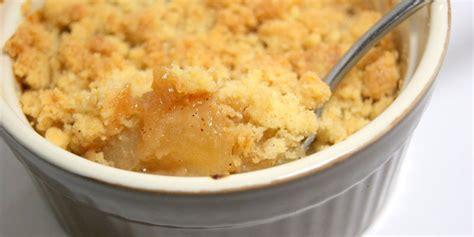 jeux de cuisine facile recette crumble croustillant aux pommes facile jeux 2