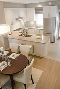 Idee relooking cuisine deco cuisine americaine en beige for Idee deco cuisine avec lit en bois