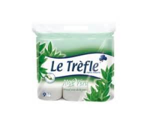 le trefle papier toilette odr le trefle papier toilette 224 l alo 233 v 233 ra lot de 9 rouleaux offre de remboursement