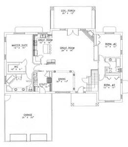 home plans open floor plan ranch house plans with open floor plan chanhassen ridge ranch home plan 088d 0139 house