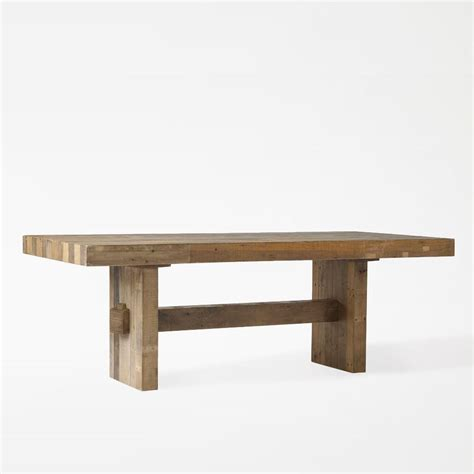 reclaimed elm dining table emmerson reclaimed wood dining table west elm uk 4529
