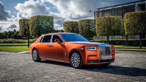 Rolls Royce Phantom 4k Wallpapers by Rolls Royce Phantom Ewb Orange Uhd 4k Wallpaper Pixelz