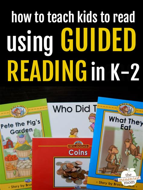 How To Teach Kids To Read Using Guided Reading  The Measured Mom