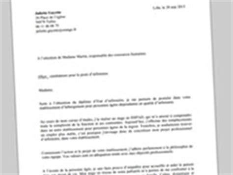 Rédaction Cv Gratuit cover letter exle lettre de motivation infirmier