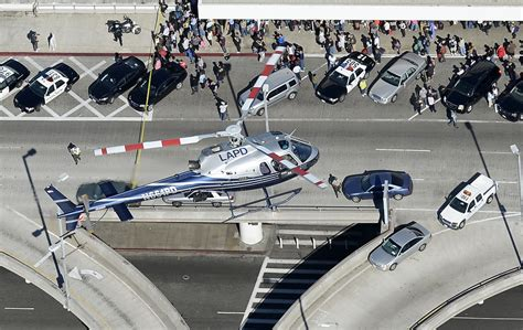 california police shoot kill suspect  helicopter