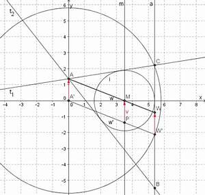 Inkreis Dreieck Berechnen : dreieck konstruieren h he winkelhalbierende und inkreisradius gegeben mathelounge ~ Themetempest.com Abrechnung