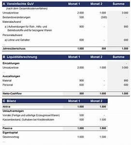 Guv Rechnung Beispiel : bestandsver nderungen lagerauf und abbau automatisch ~ Haus.voiturepedia.club Haus und Dekorationen