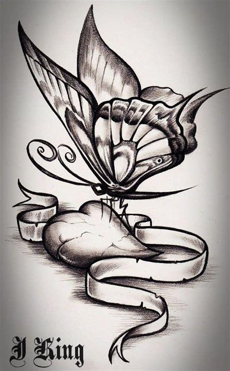 tatoo  tattoo heart love butterflies deviantart tattoos