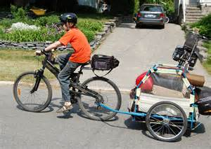 Bike Camping Trailer