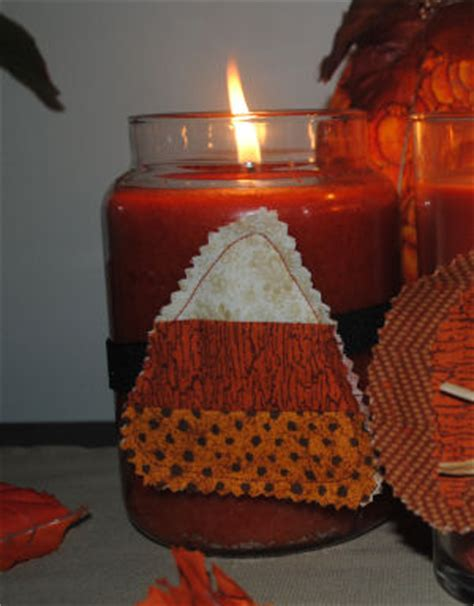 Candle Corn Wrap by Free Fall Projects To Sew