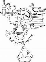 Waitress Coloring Pages Being Training Sheet Scenes Behind Mistakes Sunshine Got Ve Teacher Waitressing Cringe Worthy Expecting Easy Experience Few sketch template