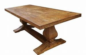hand made segovia reclaimed wood trestle dining table by With dining tables made from reclaimed wood