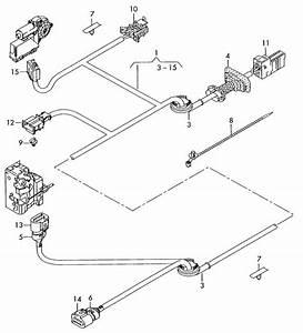 Audi A3 Harness For Door  Loom For Door  Loom