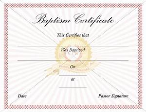 blank baptism certificate template gallery certificate With free printable baptism certificates templates