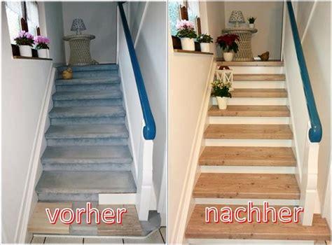 Treppen Modernisierung Renovierung Beispiele Vorher