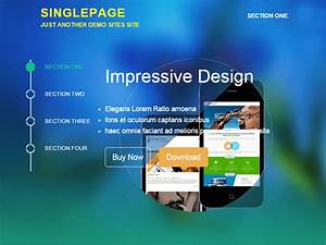 Bootstrap Header Design With Logo 35 Best Free One Page Parallax Wordpress Themes 2020