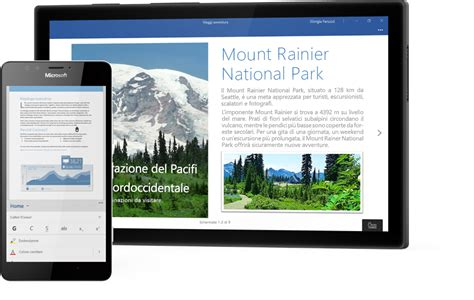 Windows Mobile Tablet by App Di Office Per Windows 10 Su Telefoni E Tablet Windows