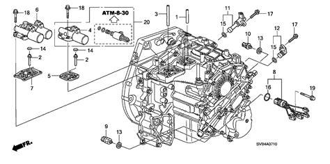 Honda Pilot Engine Diagram Transmission by 28600 Rpc 004 Genuine Honda Parts