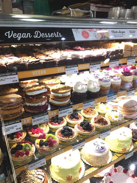 whole foods vegan cake whole foods in san diego has an entire section dedicated 1379