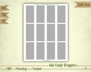 wrap candy templates images template design ideas With wrap candy templates