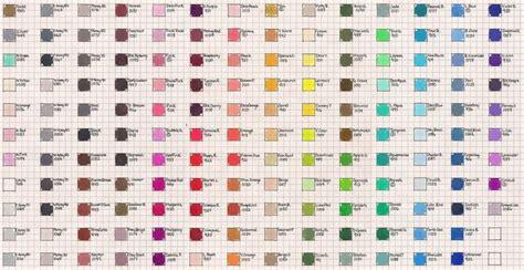 prismacolor pencils color chart scholar prismacolor color chart this is a color chart