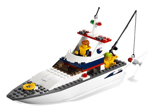 Lego Fishing Boat Instructions by Wish List 0