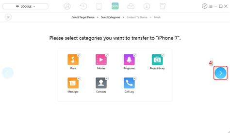 transfer pictures from android to iphone how to transfer data from android to iphone 7 7 plus easily
