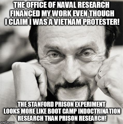 Stanford Meme - image tagged in philip zimbardo psychologist imgflip