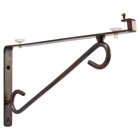 glass shelf brackets scrolling arm glass shelf bracket hardware