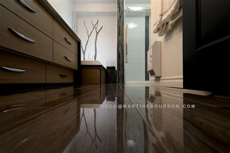 cuisine meubles gris salle de bain rénovée à voir martine bourdon décoratricemartine bourdon décoratrice d