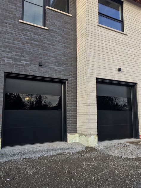 garage door with entry door modern exterior garage doors woodbridge modern doors