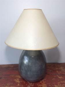 Pied De Lampe : pied de lampe en terre cuite ovale ~ Teatrodelosmanantiales.com Idées de Décoration